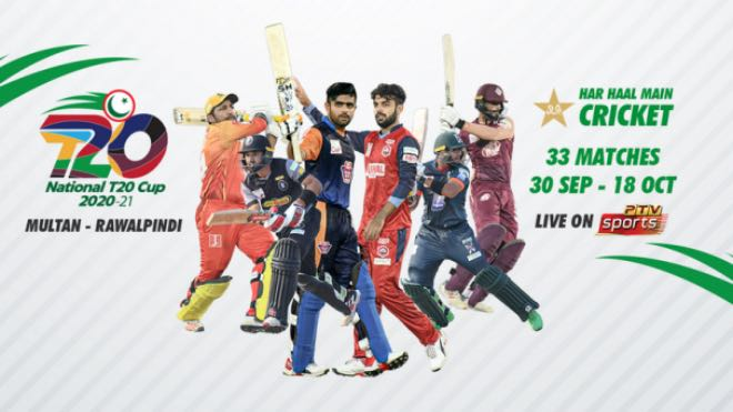 Squad for Pakistan National T20 Cup tournament
