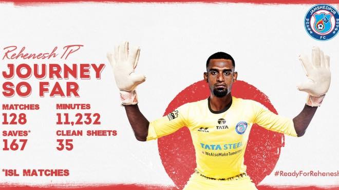 TP Rehenesh in Indian Super League