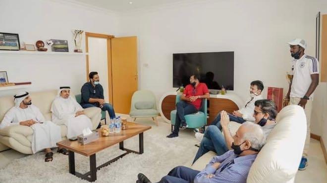 The delegation was hosted by Waleed Bukhatir and Khalaf Bukhatir