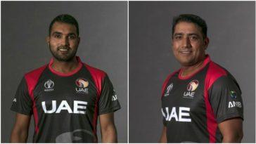 Two UAE players Amir Hayat and Ashfaq Ahmed charged under ICC Anti-Corruption Code