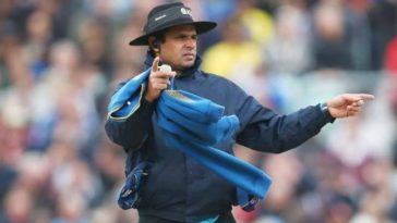 Aleem Dar set to break the record for most ODIs as an umpire