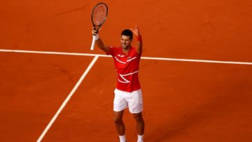 French Open 2020: Novak Djokovic into last 16, sets a record for 11 straight year