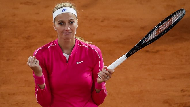 French Open 2020: Petra Kvitova enters quarters finals after eight years