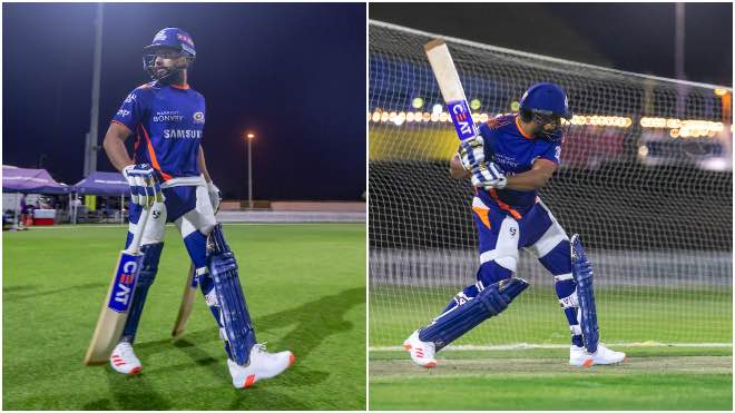 Good News for Mumbai Indians fans, Rohit Sharma back to training for IPL 2020
