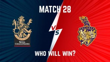 IPL 2020 Match 28 RCB vs KKR Match Prediction, Probable Playing XI: Who Will Win?