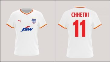 ISL 2020-21: Bengaluru FC unveils away kit for 2020-21 season