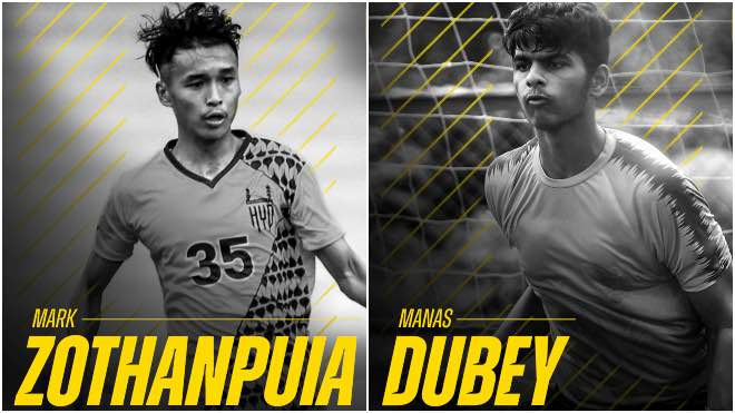 ISL 2020-21: Hyderabad FC extend contracts of Manas Dubey and Mark Zothanpuia