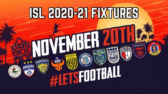 ISL 2020-21: Indian Super League 2020-21 Fixture: Full ISL time table, match timings in IST and venues
