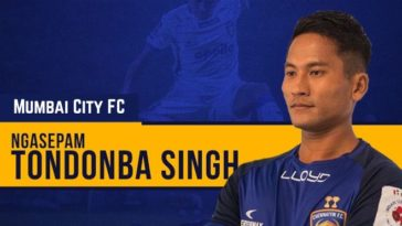 ISL 2020-21: Mumbai City FC sign defender Tondonba Singh