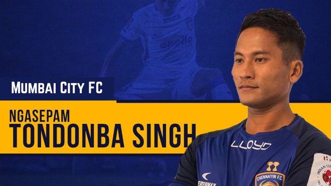 ISL 2020-21: Mumbai City FC sign defender Tondonba Singh