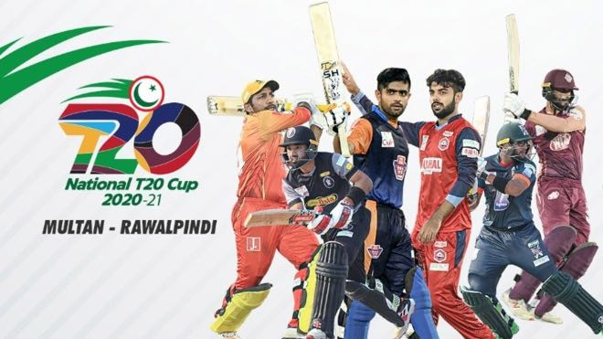 National T20 Cup 2020 Points Table and Standings