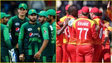 Pakistan announced 22 probables for Zimbabwe series