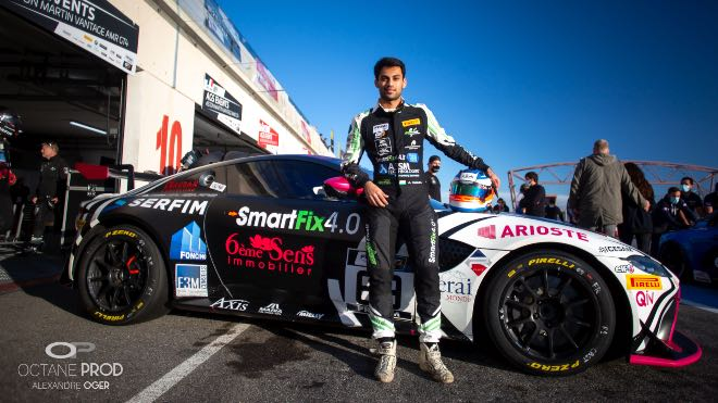 A Top 10 finish yet again for Aston Martin Racing Driver Academy's Akhil Rabindra at the Circuit d'Albi