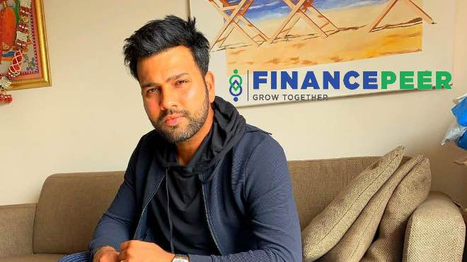 Financepeer ropes in Rohit Sharma as the Brand Ambassador
