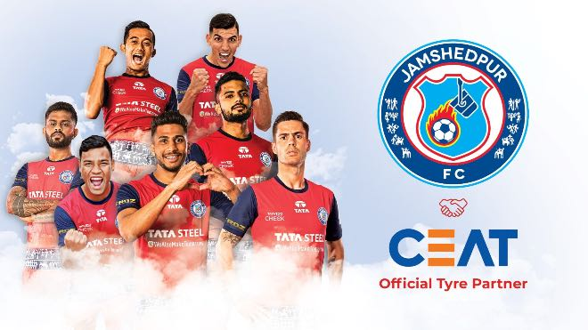 ISL 2020-21: Jamshedpur FC ropes CEAT as the Official Tyre Partner