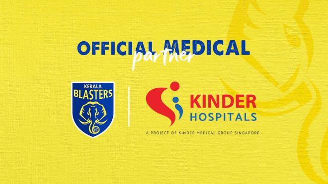 ISL 2020-21: Kerala Blasters FC announces Kinder Hospitals to continue as Official Medical Partner