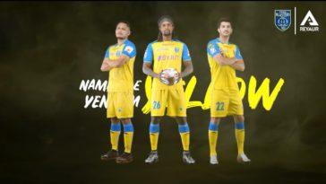 ISL 2020-21: Kerala Blasters FC unveiled Home Kit