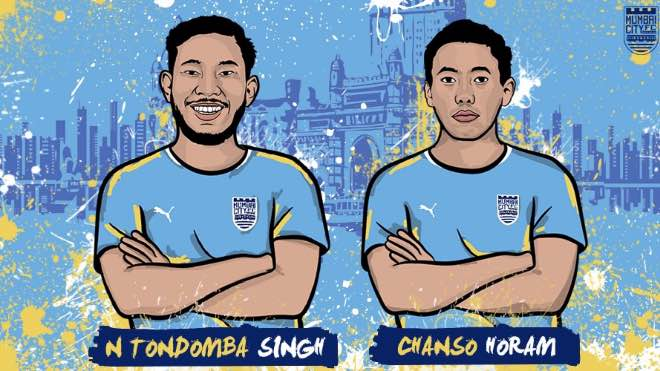 ISL 2020-21: Mumbai City FC sign midfielders Chanso Horam and Naorem Tondomba Singh, to loan out