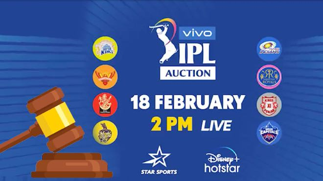 IPL 2021 Auction: Date, Time, Venue, Live Telecast and Streaming Details