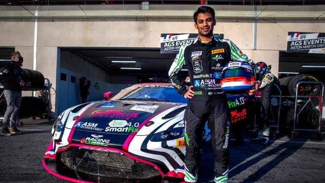 Akhil Rabindra makes a comeback to European GT4 Championship
