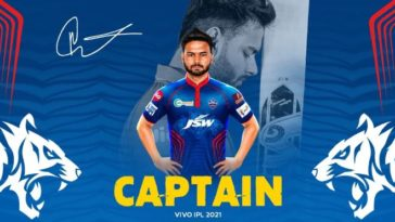 Delhi Capitals appoints Rishabh Pant as captain for IPL 2021