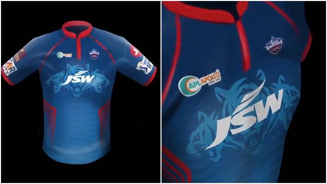 Delhi Capitals launches new official playing jersey for IPL 2021