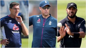 ECB appoints Marcus Trescothick, Jon Lewis and Jeetan Patel as batting, pace bowling and spin bowling coach