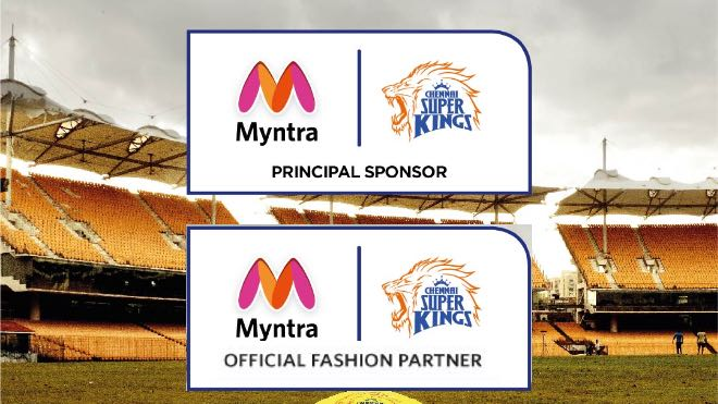 IPL 2021: Chennai Super Kings sign Myntra as Principal Partner and Official Fashion Partner