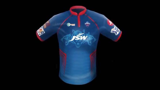 IPL 2021 Delhi Capitals Jersey