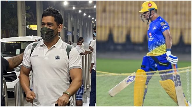 IPL 2021: MS Dhoni reaches Chennai, CSK training camp likely from March 9