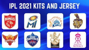IPL 2021 Official Team Kits and Jersey