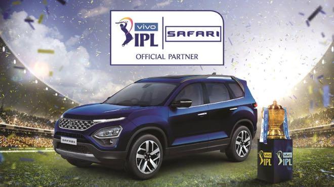 IPL 2021: Tata Motors continues its association, Tata Safari becomes official partner