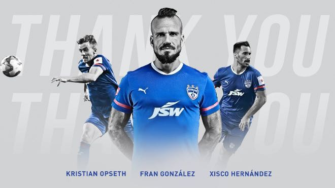 ISL 2020-21: Kristian Opseth, Fran González and Xisco Hernandez leave Bengaluru FC