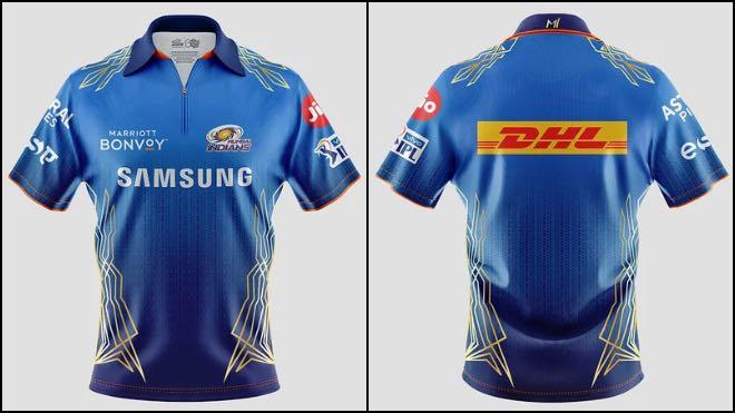 Mumbai Indians unveils jersey for IPL 2021