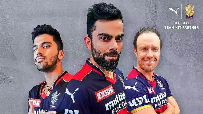 Royal Challengers Bangalore unveils jersey for IPL 2021
