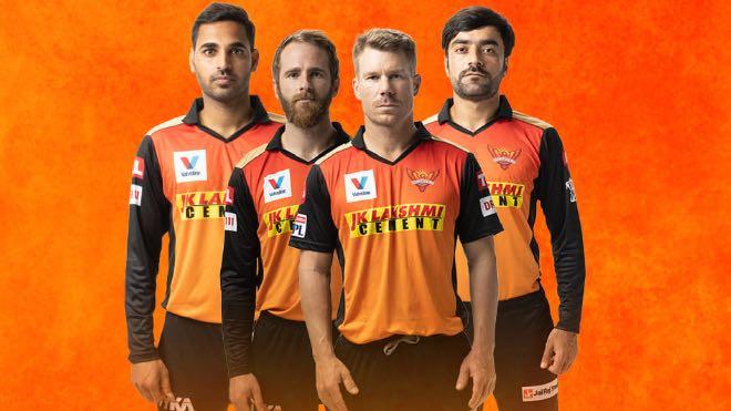 Sunrisers Hyderabad IPL 2021 Jersey