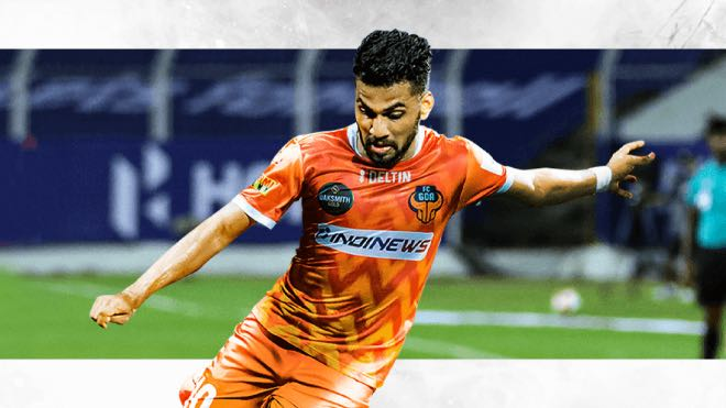 Brandon Fernandes extends contract with FC Goa for three more years