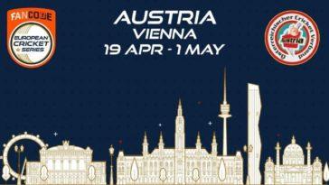ECS T10 Vienna 2021 Points Table: ECS Austria, Vienna 2021 Standings