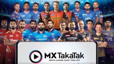 IPL 2021: MX TakaTak becomes the Official Short Video Partner of seven IPL teams