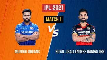 IPL 2021 Match 1 MI vs RCB Match Preview, Head to Head and Playing XI