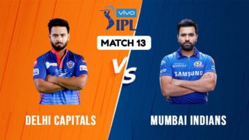 IPL 2021 Match 13 DC vs MI Match Preview, Head to Head and Playing XI