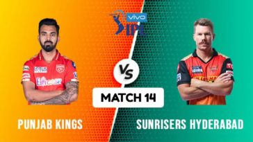 IPL 2021 Match 14 PBKS vs SRH Match Preview, Head to Head and Playing XI