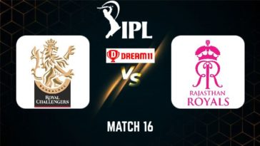 IPL 2021 Match 16 RCB vs RR Dream11 Prediction, Fantasy Cricket Tips, Playing XI and Top Picks