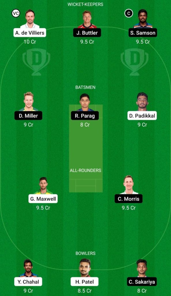 IPL 2021 Match 16 RCB vs RR Dream11 Team Prediction, Playing XI, Top Picks, Captain and Vice-captain
