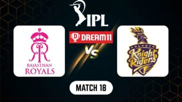 IPL 2021 Match 18 RR vs KKR Dream11 Prediction, Fantasy Cricket Tips, Playing XI and Top Picks