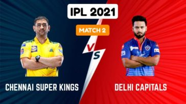 IPL 2021 Match 2 CSK vs DC Match Preview, Head to Head and Playing XI