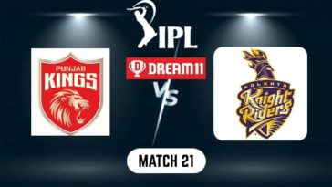 IPL 2021 Match 21 PBKS vs KKR Dream11 Prediction, Fantasy Cricket Tips, Playing XI and Top Picks