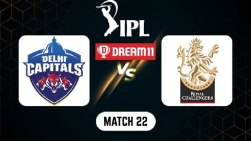 IPL 2021 Match 22 DC vs RCB Dream11 Prediction, Fantasy Cricket Tips, Playing XI and Top Picks