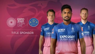 IPL 2021: Rajasthan Royals sign Dubai Expo 2020 as principal sponsor