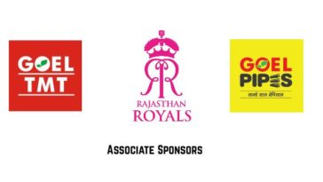 IPL 2021: Rajasthan Royals sign Goel TMT and Goel Pipes as Associate Sponsors